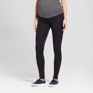 Maternity Crossover Panel Ponte Pants - Isabel S